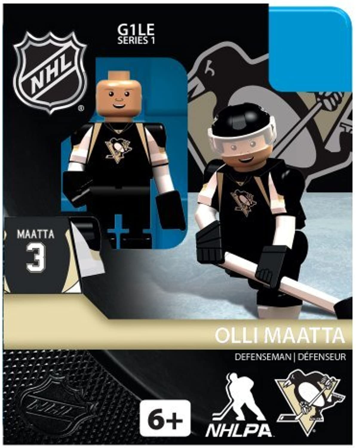 NHL Pittsburgh Penguins Olli Maatta Generation 1 Toy Figure by Oyo