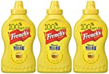 French's Classic Yellow Squeeze Bottle Mustard 14 Oz (pack of 3)