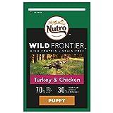 NUTRO Dog Wild Frontier Welpen-Trockenfutter mit Truthahn und Huhn, 1,5 kg
