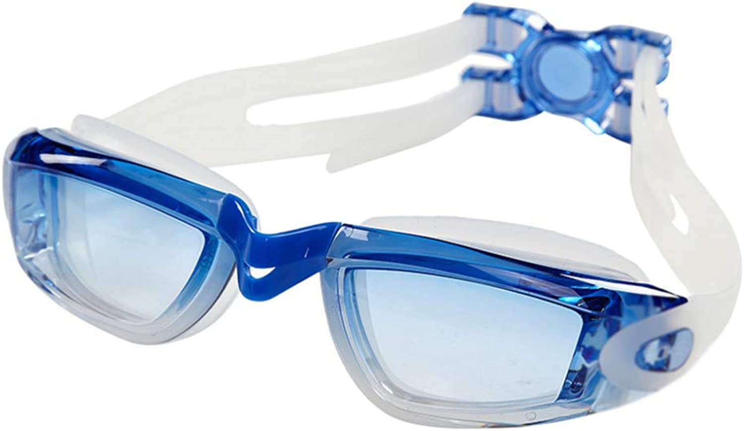 YP@YYJ Swimming Goggles Waterproof Leakproof Racing Swimming Glasses Hd Anti-Fog Lens Clear Field of Vision D