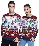 Led Licht Ugly Christmas Sweater Pärchen