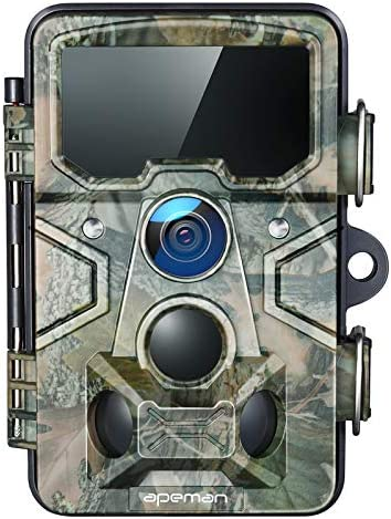 APEMAN Trail Camera 20MP 1080P with 16GB TF Card 120 Detection Range 116 Wide Angle Lens 65ft product image