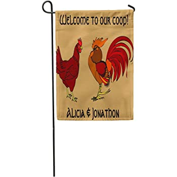 Red Rooster Brand Double Sided Soft Flags **GARDEN SIZE**   FG1377
