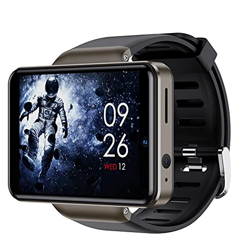 Yumanluo Smart Band Smart Watch,Reloj con Tarjeta WiFi Android, Reloj Inteligente Deportivo-Negro (32G),Pulsera Inteligente con Pulsómetro