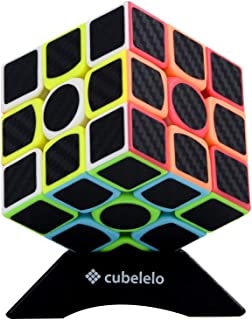 Cubelelo Lefun Carbon Fibre 3x3 Frosted Stickerless Speed Cube Puzzle 3x3x3 Magic Cube