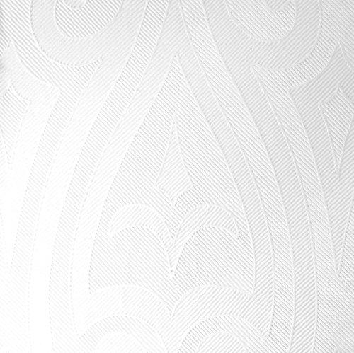 Duni Elegance-Servietten Lily 40er weiß, 40 x 40 cm