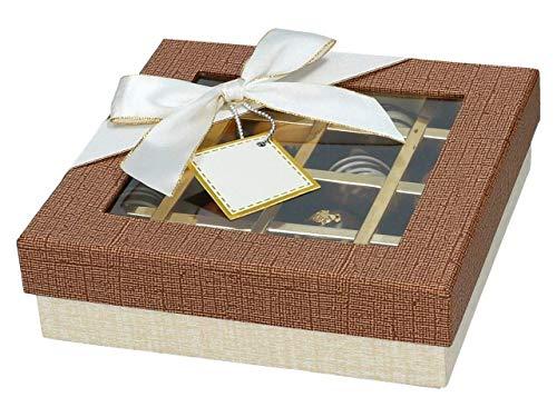 Taartdecoratie winkel chocolade case voor 16 bonbons Treasure