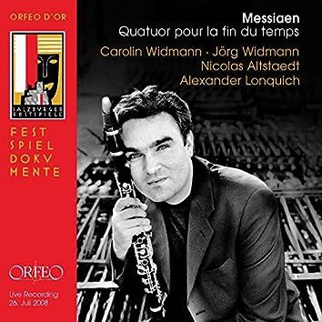 Messiaen: Quatuor pour la fin du temps, I/22 (Live)