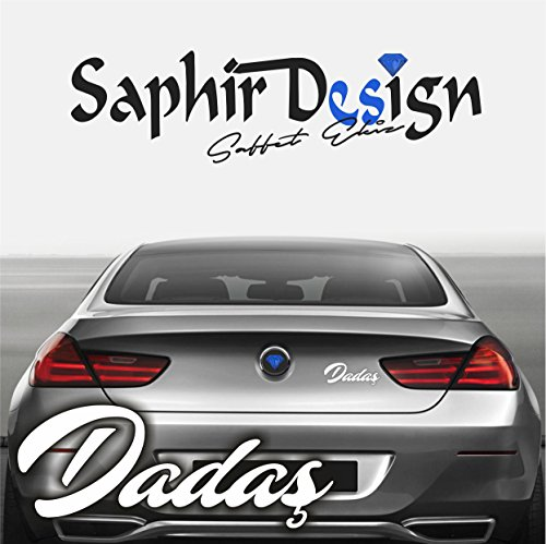 Preisvergleich Produktbild Dadas Erzurum - Logo A153 / 13 x 5 cm Hochleistungsfolie in der Farbe Weiß