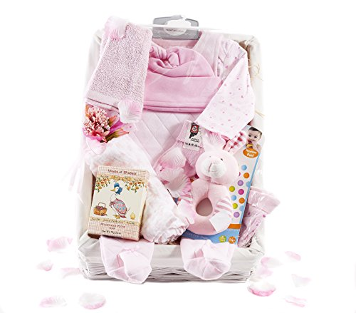 Wickers Just For Baby Premium Hamper - GIRL   Wickers Gift Baskets