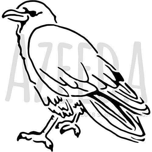 A3 'Rabe' Wandschablone / Vorlage (WS00019530)