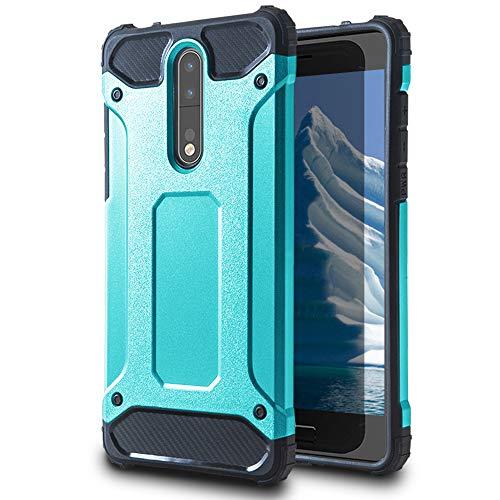 United Case Funda Protectorapara Nokia 8 | TPU |en Turquesa | Anticaída