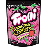 Trolli Sour Brite Crawlers Watermelon Gummy Candy, 9 Ounce, Pack of 6