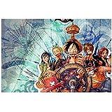 海賊王 フィギュア ジグソーパズル リラックス 減圧 子供から大人 一人暮し 家 初心者向け ギフト プレゼント(1000ピース)