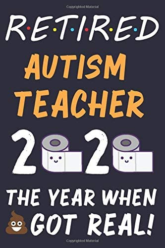 Retired Autism Teacher 2020 Funny Teacher Retiring Gift Retirement Gifts For Autism Teachers product image