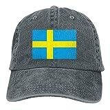 Truck Baseball Cap Sun Hat Unisex Sweden Flag Cowboy Hat Adjustable Baseball Cap Sunhat Fashion Leisure Cap Peaked CapUnisex Classic Baseball Cap Dad Hats