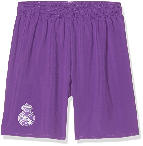 adidas Kinder Real Madrid Replica Shorts, Ray Purple/Crystal White, 152