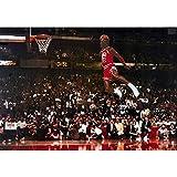 Michael Jordan Dunk 24' x 36' Poster Print