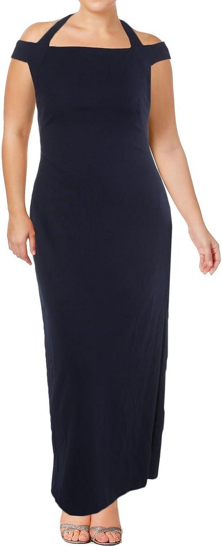 Lauren Ralph Lauren Womens Side Slit OffTheShoulder Evening Dress