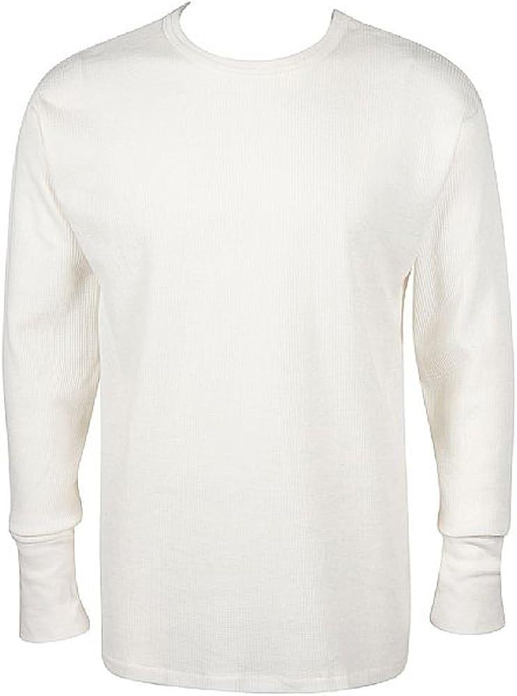 Munsingwear Men's Thermal Long Sleeve Crew Neck Top