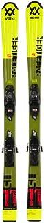 Volkl 2024 Racetiger JR Yellow Ski w/vMotion 7.0 Bindings