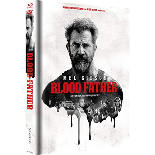 Blood Father - Mediabook - Cover A Rot - Limited Edition auf 333 Stück (+ DVD) [Blu-ray]