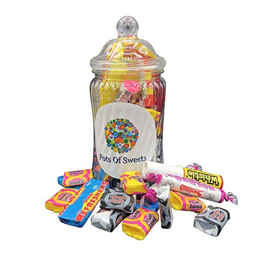 Spiral Glas Klassische Retro Süßigkeiten