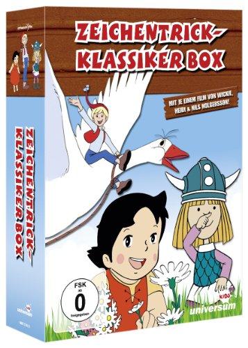 Zeichentrick-Klassiker Box (Wickie/ Heidi in den Bergen/ Nils Holgersson)