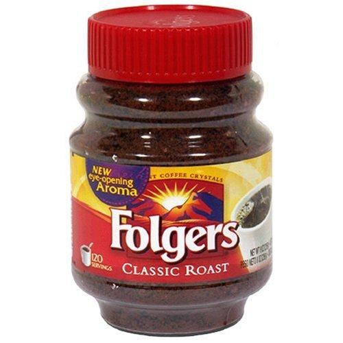 Folgers Classic Roast Coffee Instant Coffee 226g (Folgers Classic Röstkaffee Instantkaffee)