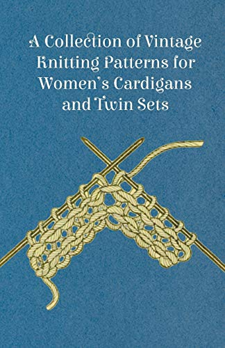 A Collection of Vintage Knitting Patterns for Women's Cardigans and Twin Sets