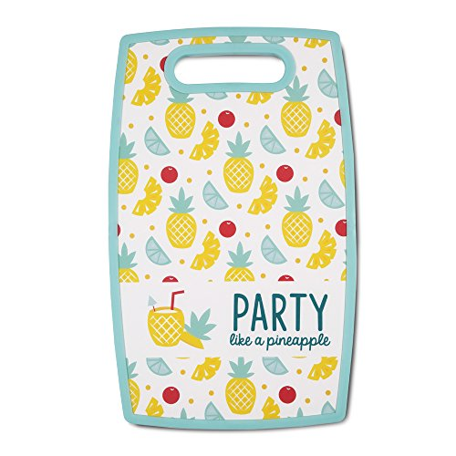Pavilion Gift Company 73228 Party Like A Pineapple Cutting Board, 9 L x .05 W x 14 H