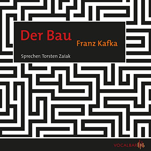 Der Bau audiobook cover art