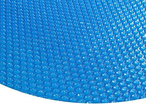 Zzxx Runde Solarfolie Poolheizung Solarplane, blau - 400µ - 3,6 Meter Durchmesser