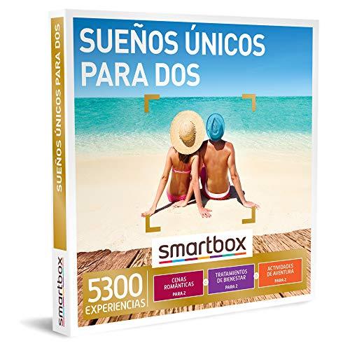 SMARTBOX - Caja Regalo - Sueños únicos para Dos - Idea de Regalo - 1 Experiencia de gastronomía, Bienestar o Aventura para 2 Personas