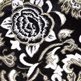 モンブランローズ 仮眠 スタンダード カーテン ノーマル 横2400x縦850mm ブラック