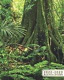 2022-2023 Buchkalender: 2 Jahre Wochenkalender Tagesplaner Terminplaner | 24 Monate Wochenplaner, Januar 2022 bis Dezember 2023 | Tropischer Regenwald, Amazonas Dschungel, Brasilien