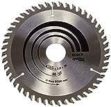 Bosch Professional Optiline Wood Lama per sega circolare (per legno, 165 x 30 x 2,6 mm, 48 denti, accessori per seghe circolari)