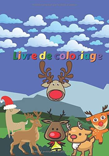 Livre de coloriage: Journal de dessins de Rennes - Animaux - Cahier pour enfants à colorier