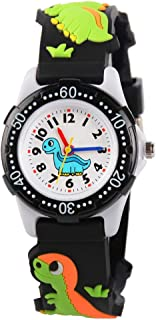 Kids Watch for Boys Girls, Toddler Watch Digital Analog Wrist Waterproof Watches with 3D Cute Cartoon Silicone Band, Best Gift for 3-10 Years Old Childrens