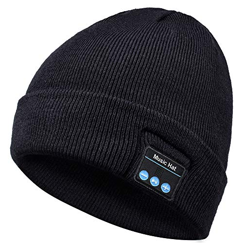 HANPURE Bluetooth Beanie Hat, Gift for Men and Women, Upgraded...