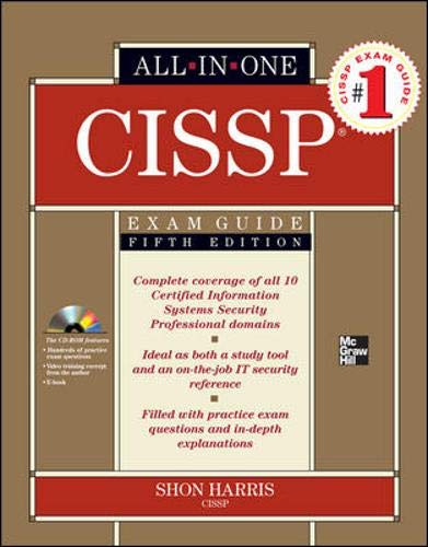 CISSP Exam Guide, w. CD-ROM (All-In-One)
