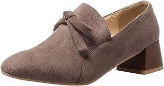 Melady Women Fashion Pumps Slip On Court Shoes Sweet Bow
