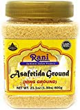 You'll LOVE our Asafetida by Rani Brand--Here's Why: 100% Natural, No preservatives & Great Health Benefits... often used as a Garlic/Onion substitute, also in dal (soups) to offset/help digest beans & lentils Strong Aroma! Asafetida has the stronges...