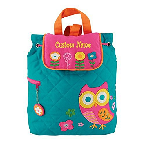 Personalized Teal Owl Embroidered...