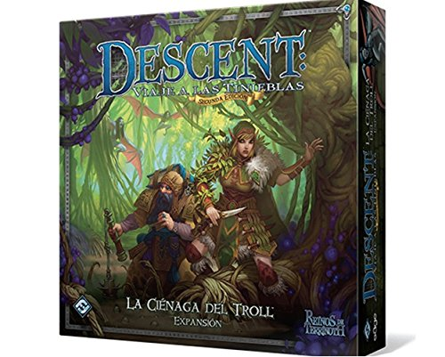 Descent 2nd Edition The Trollfens Boars Game Expansion (Edge Entertainment DJ05)