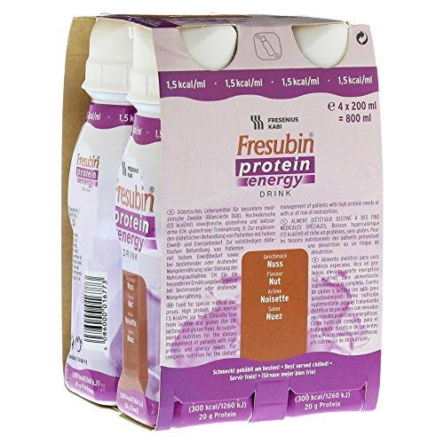 FRESUBIN PROTEIN Energy Drink Nuss Trinkfl., 4X200 ml
