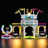 Kit di Illuminazione A LED per Lego Friends La Gara di Equitazione di Stephanie, Compatibile con Il Modello Lego 41367 Mattoncini da Costruzioni - Non Incluso nel Modello