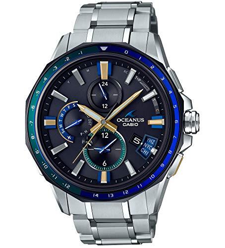 [カシオ] 腕時計 オシアナス Bluetooth 搭載 GPS 電波ソーラー OCW-G2000J-1AJF メンズ シルバー