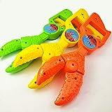 Pinza de cangrejo de mano ◆ Brazo de robot de cocodrilo, alicates de langosta para playa (color : un clip de cangrejo, tamaño: otros tamaños)