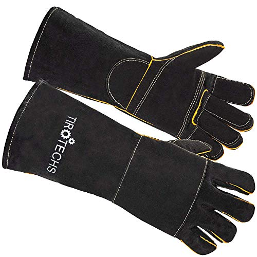 Animal Handling Gloves Bite Proof - Best Bite Resistant Gloves to Prevent Animal Bites - Ideal Bite Proof Gloves For Training Cats, Dogs, Birds and Reptiles